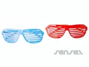 WerbeartikelÜbergroße Sonnenbrillen Clown (29 cm