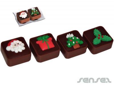 werbeartikelschokolade weihnachten karamell twin pack. Black Bedroom Furniture Sets. Home Design Ideas